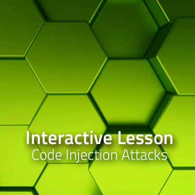 Curriculum Lesson: Code Injection Attacks