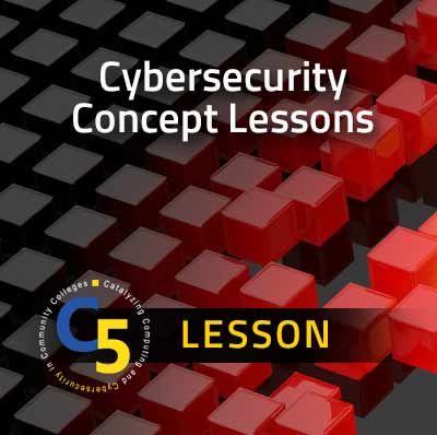 View information about Cybersecurity Concept Lessons