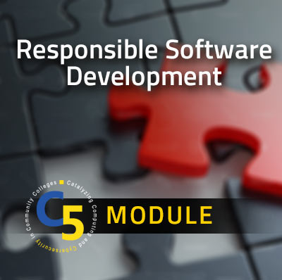 View information about the Responsible Software Development Module