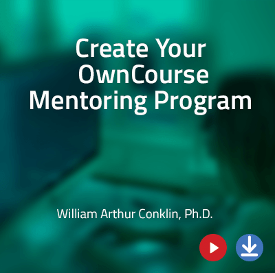 View more information about Creating Your Own Cybersecurity Course - Mentoring Program - a Webinar