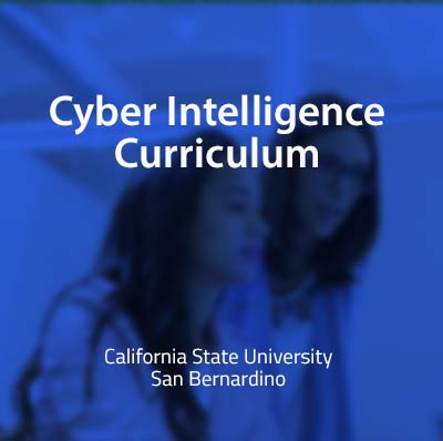 Cybersecurity curriculum: Cyber Intelligence Curriculum