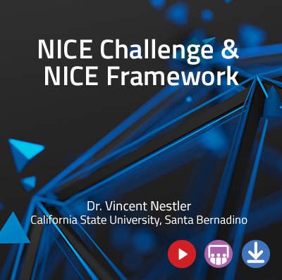 View information about the NICE Framework & Challenges - Webinar