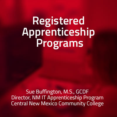 View information about developing Registered Apprenticeship Program